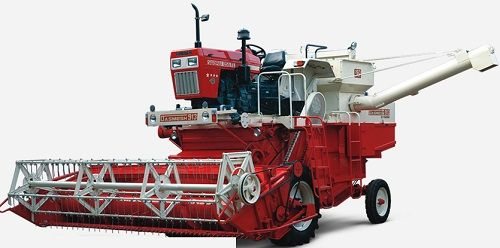 Dasmesh 913 harvester