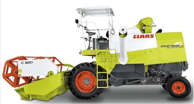 Claas CROP TIGER 40 TERRA TRAC harvester