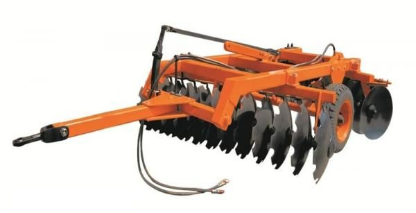 Khedut Disc Harrow with Centrally Mounted Tyre KAHHDDH-20