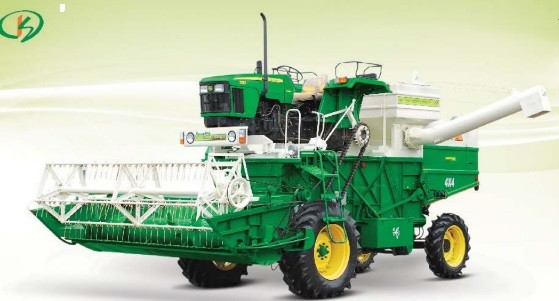 Ks Group GreenGold 4wd Harvester
