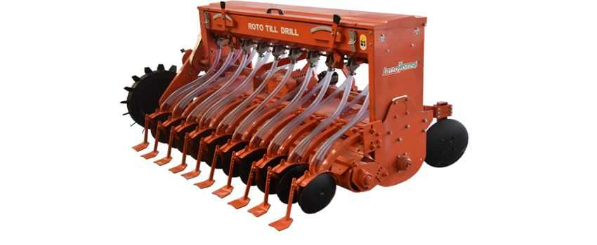 Landforce Turbo Seeder(Roto Till Drill)