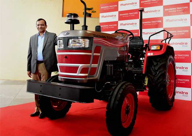 Mahindra tractors sales up by 7% during August 2018
