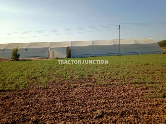 + 46 BIGHA , ROAD FRONT 800 FEET,  YEARLY TURNOVER 80 LACS, PRECISION FARMING WIT GREENHOUSE AND SHEDNET HOUSE WITH AREA OF 12000SQ METER  FERTILE LAND WATER FACILITY 2 CC  AND PLASTIC TIRPAL POND WITH STORAGE CAPACITY OF 3 CORORE LITRESOLAR POWER, ELECTRICITY ALSO AVAILABLE